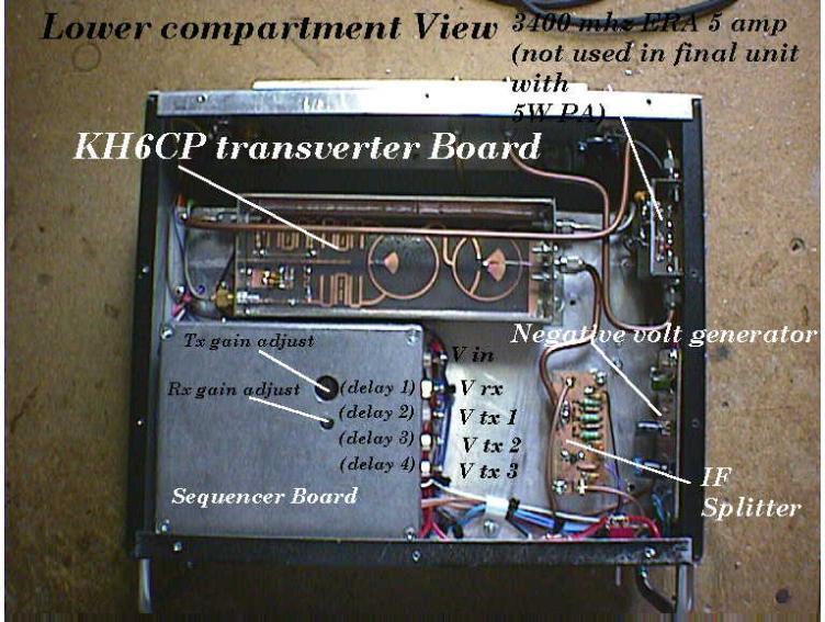 Picture: VK3NX 3 4 GHz Transverter -internal